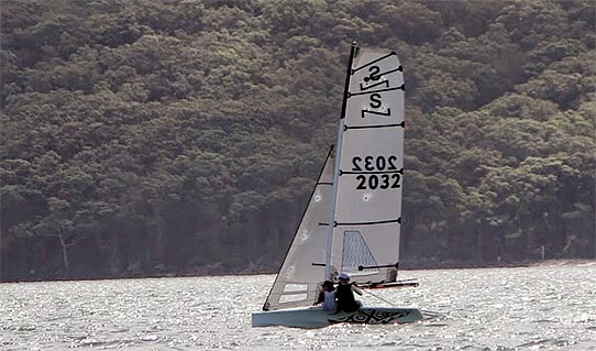 "Congratulations to Kylie Vaiciurgis and Dimity Redmond sailing ""X"" - 2015 NSW State Champions"